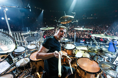 Ray Luzier/KORN at Citizens Business Bank Arena 2013 *All Access*